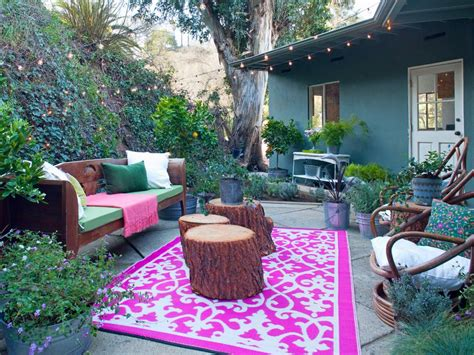 backyard living space our favorite designer outdoor rooms hgtv
