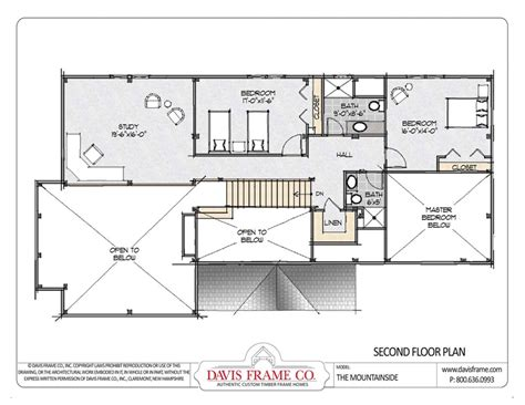 Davis By Ruthie Davis Frame T by Moutainside Home Post And Beam Floor Plans Davis Frame