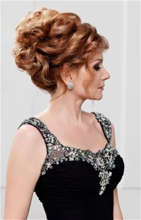 mother of the bride hairstyles partial updo mother of the bride updo wedding hairdo for mother of