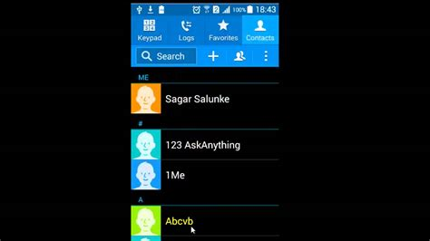 edit contacts android how to edit contacts in android phone