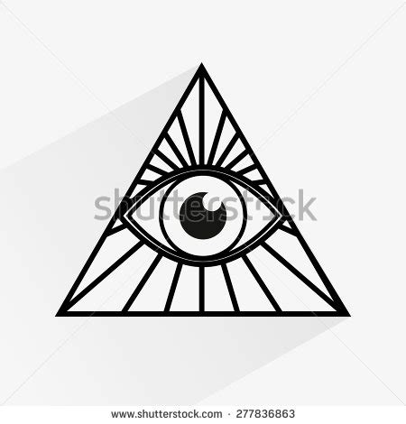 cartoon eye tattoo cartoon allseeing eye stock vector 515513788 shutterstock