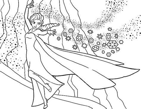 coloring pages elsa castle queen elsa build her castle coloring pages coloring sky
