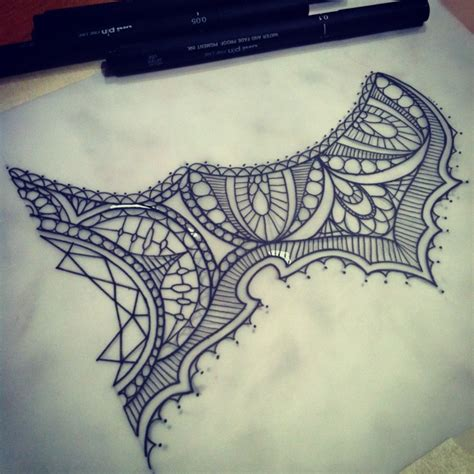 under breast tattoo designs half of tomorrow s lace sternum www