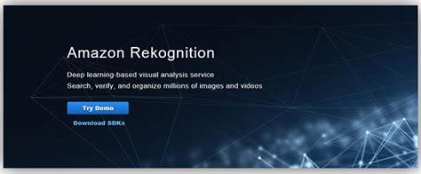 amazon rekognition welcoming amazon rekognition video deep learning based
