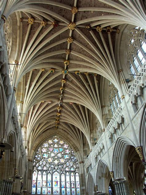 vaulted celing exeter cathedral vaulted ceiling devon guide