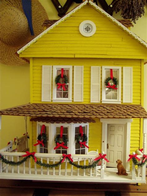 dollhouse decorated for christmas dollhouse decorated for christmas