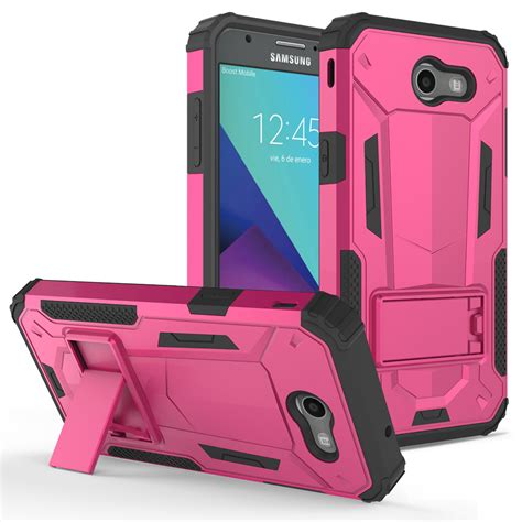 Transformer Hardcase Casing Transformer For Samsung J3 J3 2016 for samsung galaxy j3 emerge hybrid armor cover phone kickstand ebay