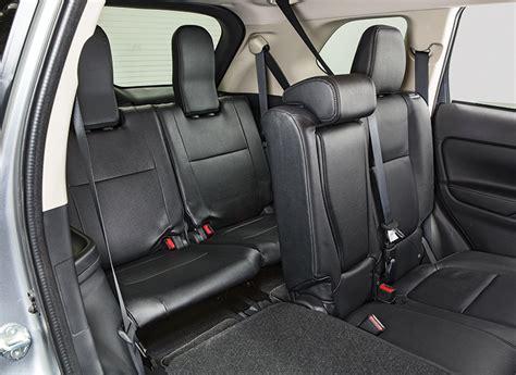 Mitsubishi 3rd Row Seating 2016 Mitsubishi Outlander Review Consumer Reports