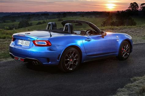 abarth 124 spider totally car news
