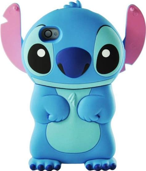 Silicone Lilo Stitch Disney Stich Biru Samsung J7 Prime J5 Prime disney 3d stitch movable ear flip for iphone