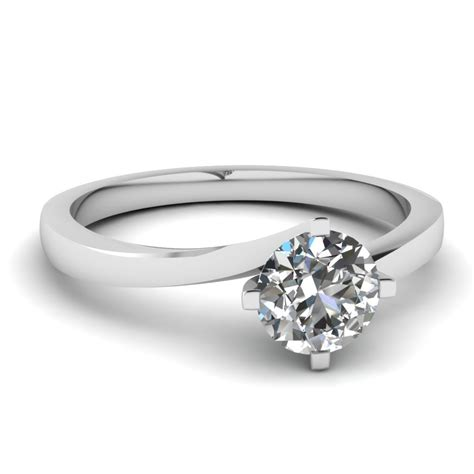 simple unique engagement rings fascinating diamonds