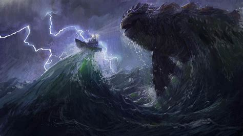 film giant monster in the sea update quot sea monster quot here be monsters animated