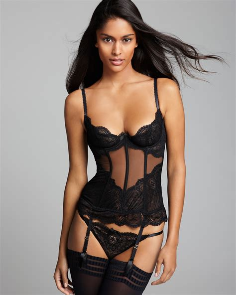 L'Agent by Agent Provocateur Vanessa Bustier   Bloomingdale's