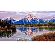 Wyoming Grand Teton National Park Mount River Snake