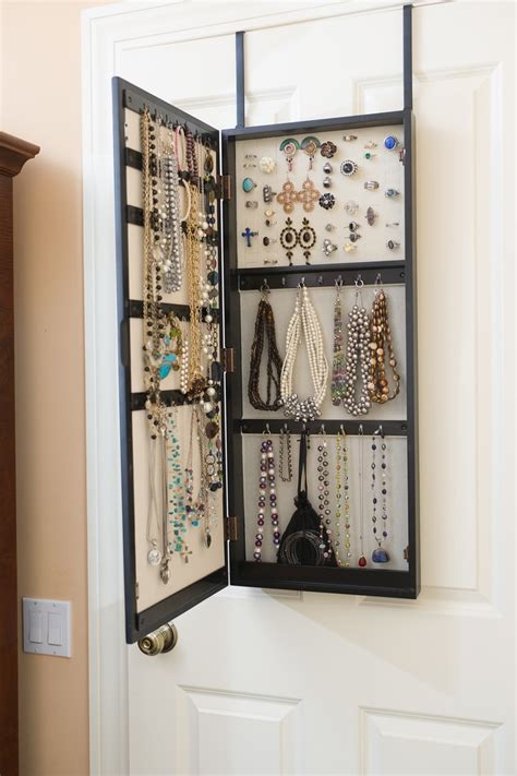 Diy Mirror Jewelry Armoire by The Door Mirrored Jewelry Armoire Diy Handmade