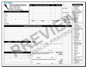 hv 1016 plumbing work order form