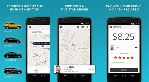 uber for android uber 3 0 for android brings major redesign