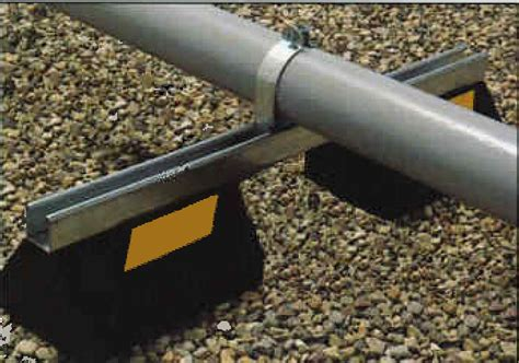 Pipe Sleeper Support by Model Cb10 28 Cb Bridge Series Roof Pipe Supports