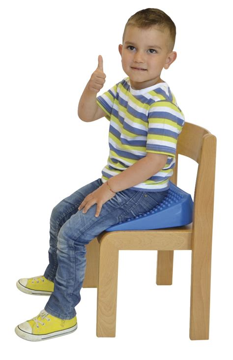 sit in the chair or sit on the chair wedge seat school specialty canada