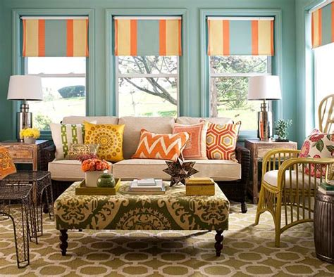 new home interior design colorful sunroom makeover