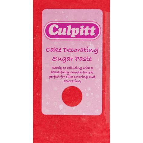 Sugar Paste For Cake Decorating by Culpitt Cake Decorating Sugar Paste 1 X 1kg Culpitt