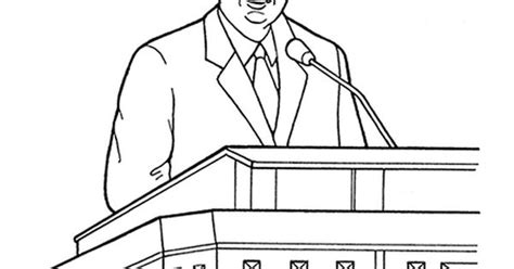 an illustration of thomas s monson speaking at general