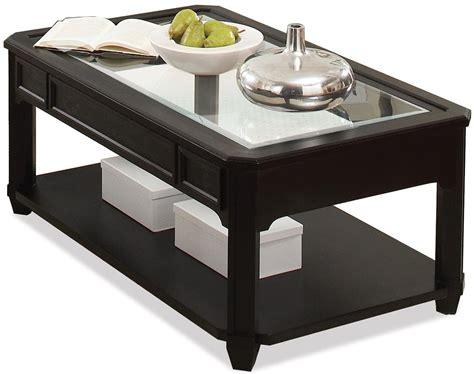 value city cocktail tables riverside furniture farrington rectangle cocktail table