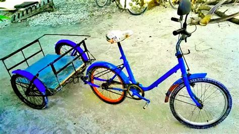 homemade 4 wheel bike diy quadricycle great 4 wheel bicycle made from scrap