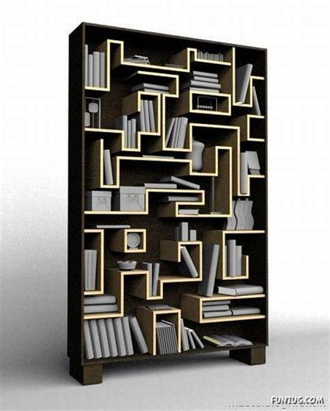 unique book shelves unique and creative bookshelves funzug