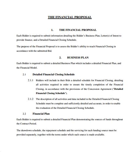 Offer Letter Format For Finance Executive Sle Financial Template 8 Free Documents In Pdf Word
