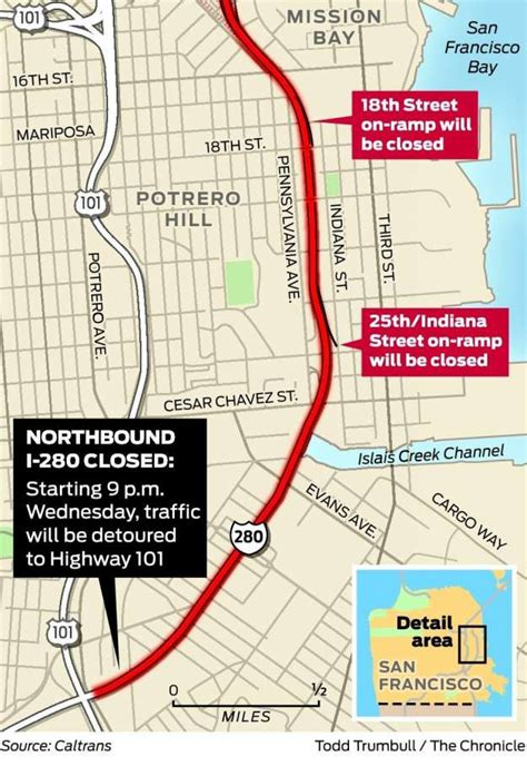 when will section 8 reopen i 280 section in s f reopens for commute after repairs