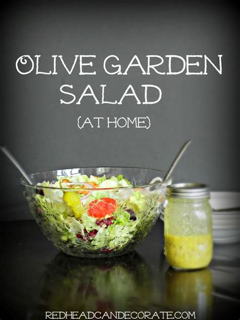 Olive Garden Salad Recipe by 15 Copycat Olive Garden Recipes And