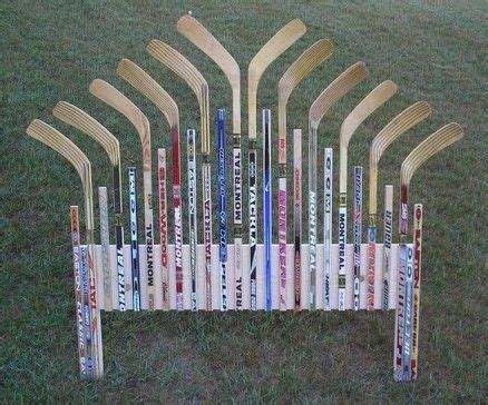 Diy Hockey Stick Bed Frame Diy Furniture Redo Pinterest Hockey Bed Frame