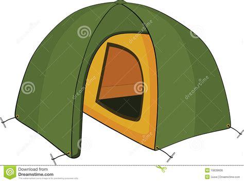 Awning Door Canopy Green Tent Cartoon Stock Vector Illustration Of Journey