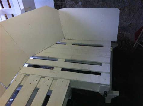 sofa sitzecke pallet sofa part 2 sofa corner and assembly