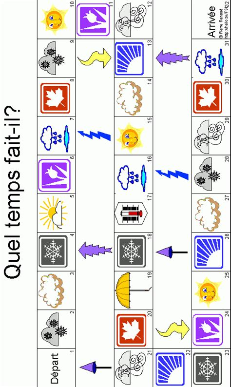 printable board game weather weather