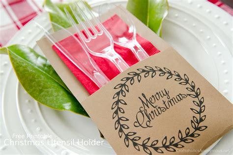 printable christmas utensil holders craftaholics anonymous 174 free printable christmas utensil