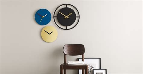 best made wall clock huxley wall clock matt grey made huxley wall clock matt redhuxley wall clock matt red