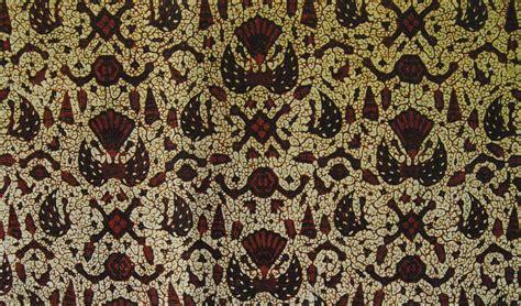 Kain Jarik Batik Sogan Putih Kawung Parang Wahyu Kipas Hitam Cokelat inilah macam macam filosofi dan estetika batik nusantara