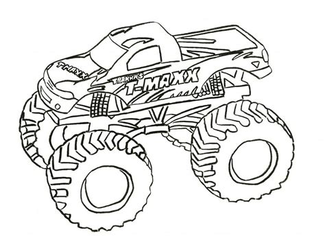 grave digger coloring pages coloring home