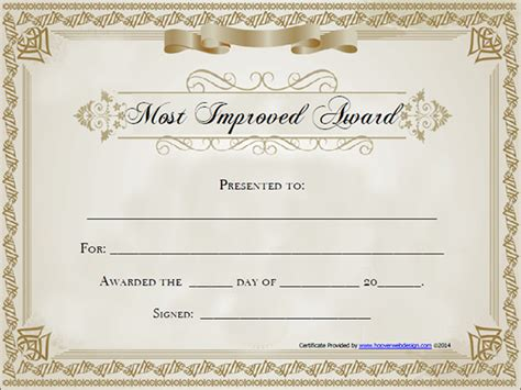 award certificates templates appreciation award certificate template search results