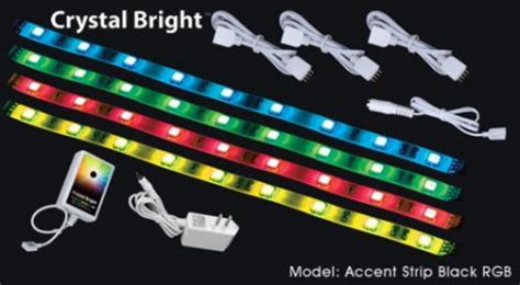led accent light strips american dj accent rgb white multi color led lighting strips accent rgb white