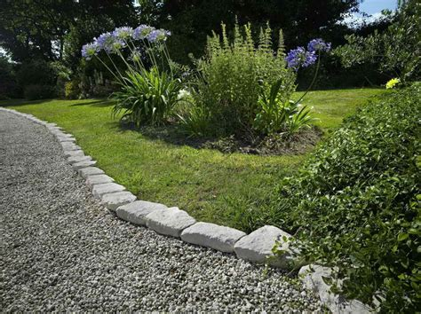 Rock Edging For Gardens Gardening Landscaping Landscaping Edging Stones Steps For Installing Edging In Your