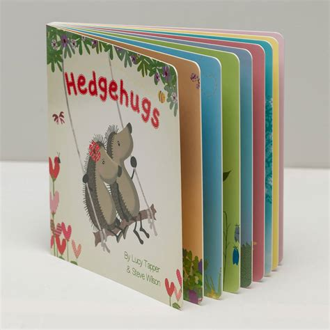 Board Book hedgehugs children s board book by fromlucy