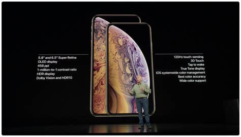 apple unveils iphone xs max    oled super