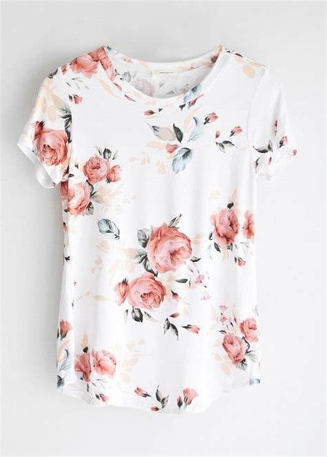 Blouse Atasan Flowery Jumbo Cantik white floral 21st and ships