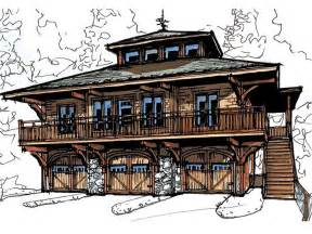 Shop With Apartment Plans by Garage Apartment Plans Carriage House Plan With 3 Car