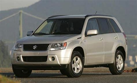Suzuki Grand Vitara Review 2007 Car And Driver