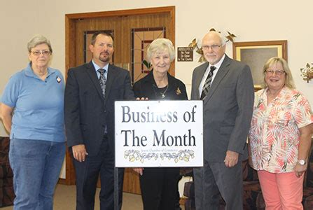 business of the month jewett area chamber of commerce