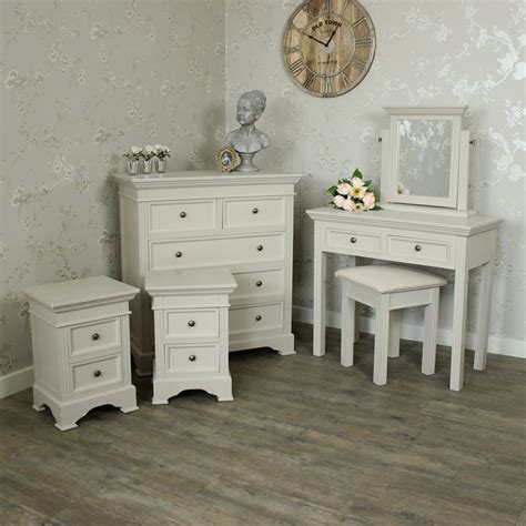 furniture bundle chest of drawers dressing table set and